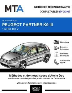 MTA Peugeot Partner III fourgon 4p