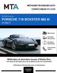 MTA Porsche 718 Boxster cabriolet phase 2