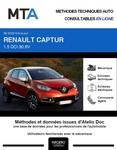 MTA Renault Captur I phase 1