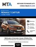 MTA Renault Captur I phase 2