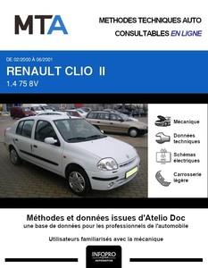 MTA Renault Clio II berline phase 1