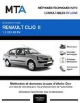 MTA Renault Clio II  berline phase 2