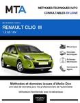 MTA Renault Clio III 3 portes phase 2