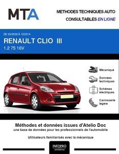 MTA Renault Clio III 5 portes phase 2