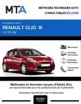 MTA Renault Clio III phase 2 5 portes