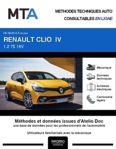 MTA Renault Clio IV 5 portes phase 2