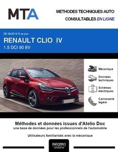 MTA Renault Clio IV break phase 2 5 portes