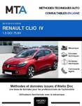 MTA Renault Clio IV phase 1 5 portes