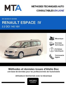 MTA Renault Espace IV Grand phase 1