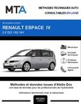 MTA Renault Espace IV phase 2