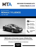 MTA Renault Fluence phase 1