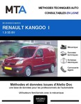 MTA Renault Kangoo I  fourgon 3p phase 2
