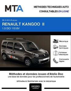 MTA Renault Kangoo II phase 2