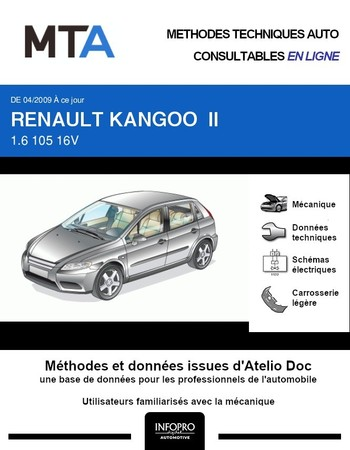 MTA Renault Kangoo II pick-up phase 1