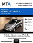 MTA Renault Koleos I phase 1