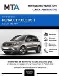 MTA Renault Koleos I phase 2