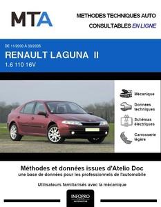 MTA Renault Laguna II berline phase 1