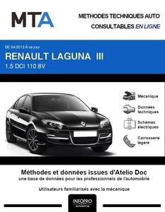 MTA Renault Laguna III 5p phase 3