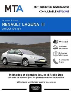 MTA Renault Laguna III berline phase 1