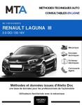 MTA Renault Laguna III berline phase 2