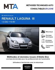 MTA Renault Laguna III break phase 2