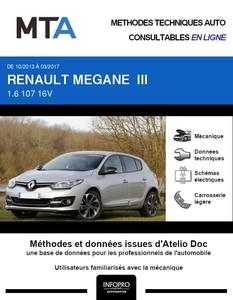 MTA Renault Megane III 5p phase 3