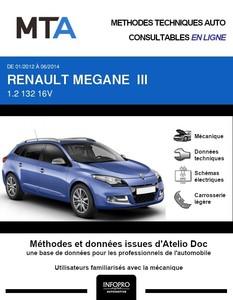 MTA Renault Megane III  break phase 2
