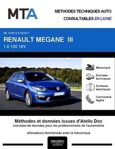 MTA Renault Megane III  break phase 3