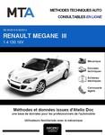 MTA Renault Mégane III cabriolet phase 1