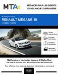 MTA Renault Megane III  cabriolet phase 2