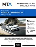 MTA Renault Mégane III cabriolet phase 3