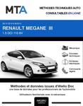 MTA Renault Mégane III coupé 3 portes phase 2