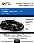 MTA Renault Mégane III coupé 3 portes phase 3