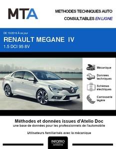 MTA Renault Megane IV berline