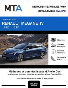 MTA Renault Mégane IV break