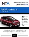 MTA Renault Scénic Grand Scénic III phase 2