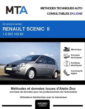 MTA Renault Scénic II phase 2