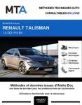 MTA Renault Talisman berline