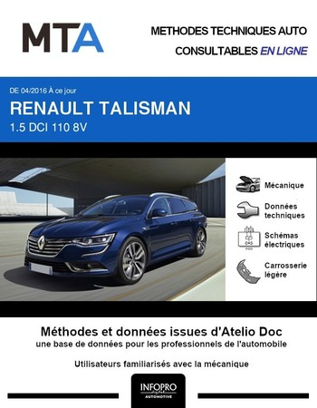 MTA Renault Talisman break