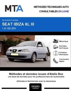 MTA Seat Ibiza III 3 portes phase 1