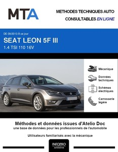 MTA Seat Leon III  break phase 1