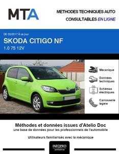 MTA Skoda Citigo 5p phase 2