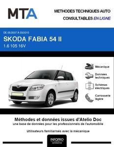MTA Skoda Fabia II 5p phase 1
