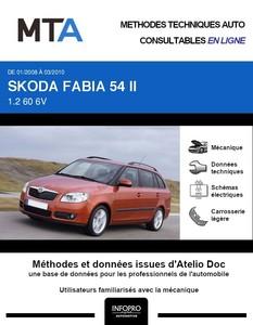 MTA Skoda Fabia II  break phase 1