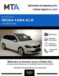 MTA Skoda Fabia III  break phase 1