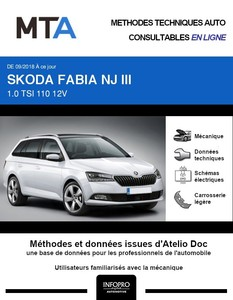 MTA Skoda Fabia III  break phase 2