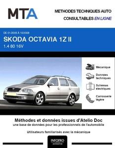 MTA Skoda Octavia II  break phase 1