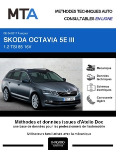 MTA Skoda Octavia III  break phase 2