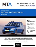 MTA Skoda Roomster phase 1
