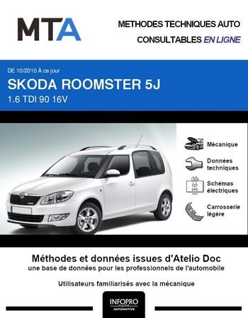 MTA Skoda Roomster phase 2